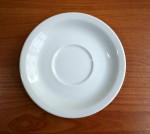 Untertasse 15 cm, Porzellan weiß -Restposten-
