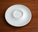 Espresso-Untertasse 11 cm, Porzellan
