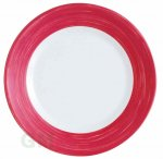 Arcopal Brush Teller tief 22,5 cm cherry