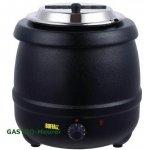 Buffalo Suppenkessel 10 Liter schwarz, versandkostenfrei