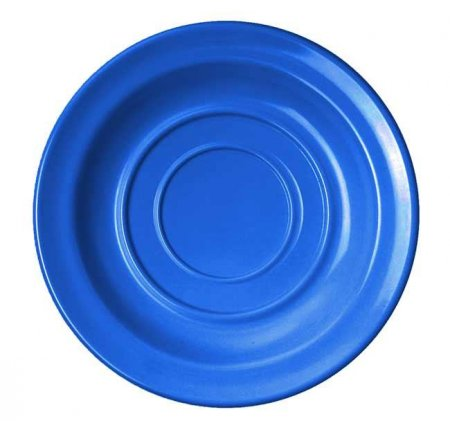 AKTION!! WACA Untertasse 14 cm Colora blau