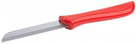 Küchenmesser 7 cm roter Griff