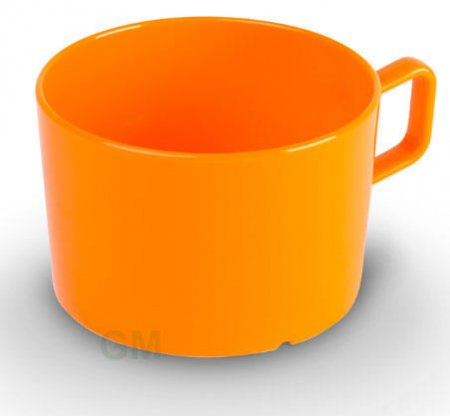 Kinderzeug Obertasse 0,2 l orange Polycarbonat (PC)