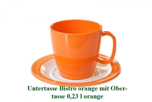 AKTION!! WACA Obertasse 0,23 l orange