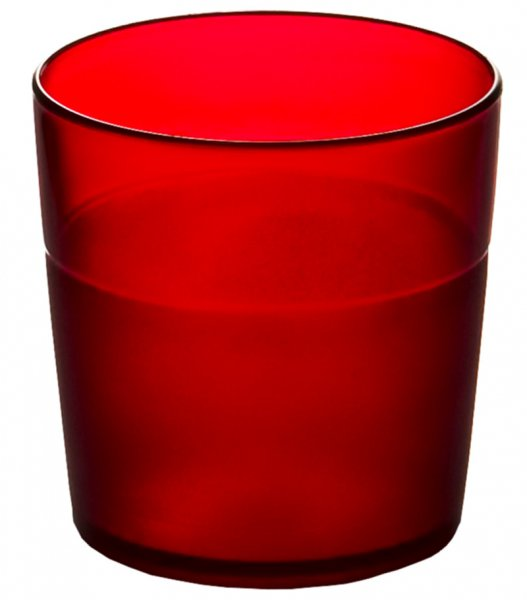 Trinkbecher Junior 0,17 l rot-frosted BPA-free