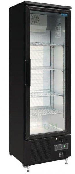 Gastro Glastür-Kühlschrank 307 Liter Barkühlvitrine GJ447 Polar ...