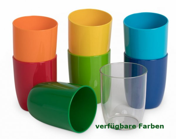 Kinderzeug Trinkbecher 0,3 l orange Polycarbonat (PC)